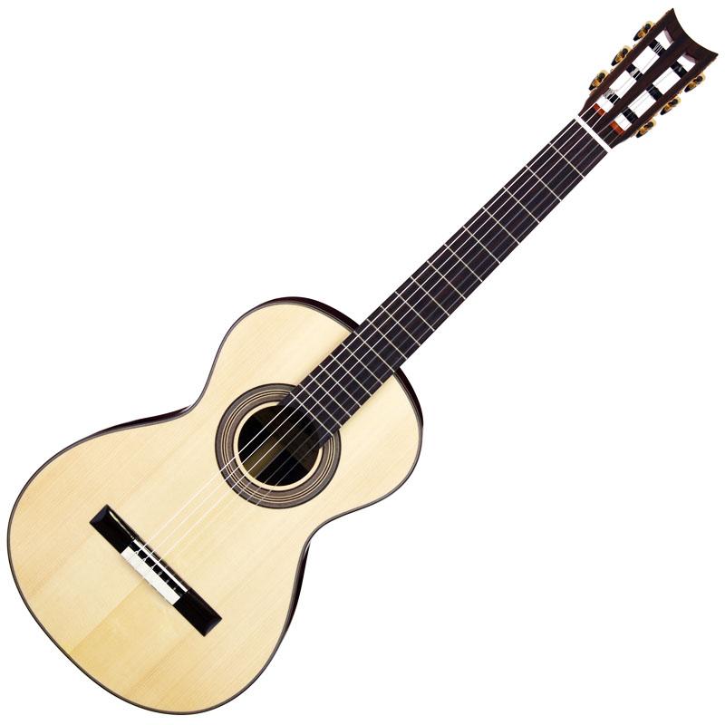 """小さめのギターが欲しくて 19世紀""""風""""ギター Aria A19C-200N/BK 購入の巻"""